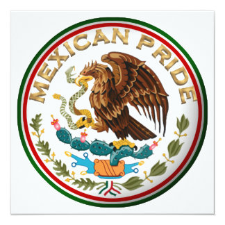 Mexican Pride (Eagle from Mexican Flag) Card