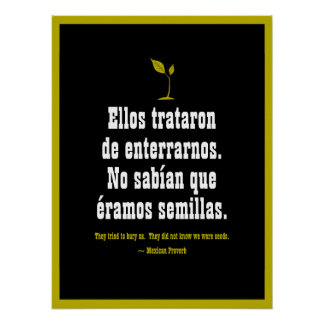 Mexican Proverb Poster