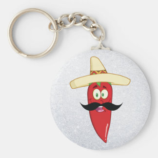 Mexican Red Pepper Keychain