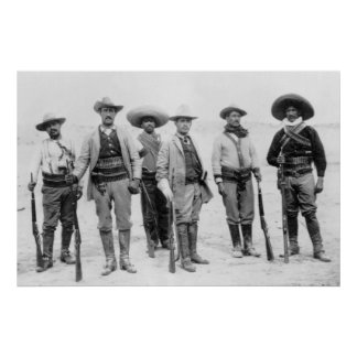 Mexican Revolution General, 1912 Poster