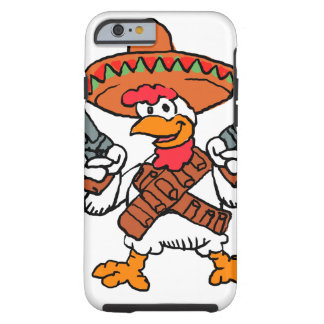 Mexican rooster tough iPhone 6 case