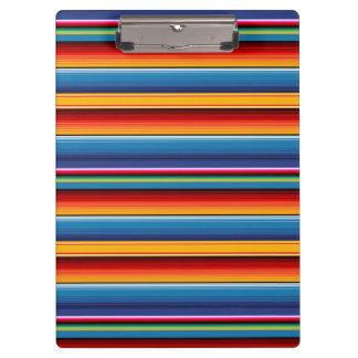 Mexican Sarape Clipboard