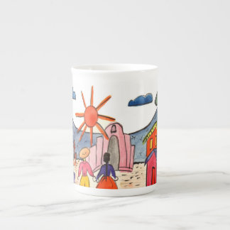 Mexican Scene Coffee Cup