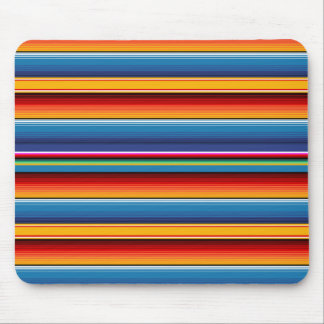 Mexican Serape Mouse Pad