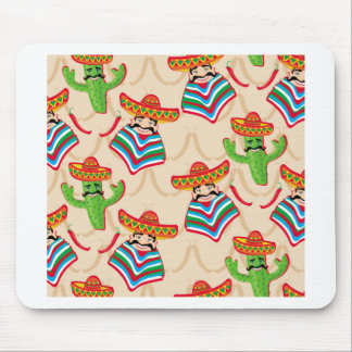 Mexican siesta mouse pad