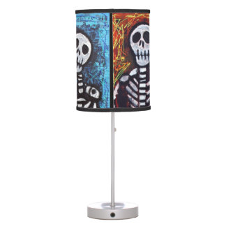 Mexican Skeleton Lamps
