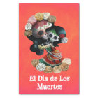 Mexican Skeleton Motherly Love Tissue Paper