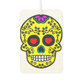 mexican skull Air Freshener Car