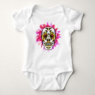 Mexican Skull Baby Bodysuit