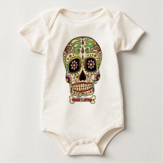 Mexican Skull! Baby Bodysuit