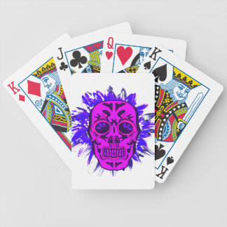 Mexican Skull Bicycle Playing Cards