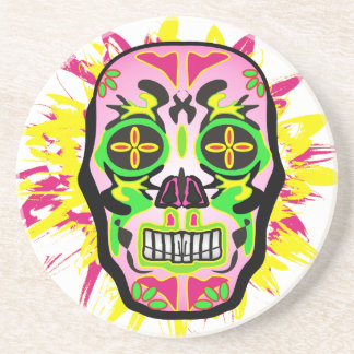 Mexican Skull Coaster