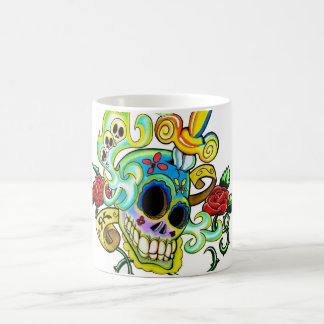 Mexican Skull Coffee Mug