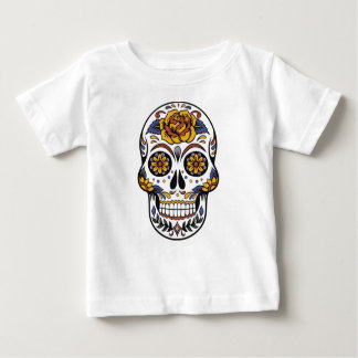 Mexican skull day of the dead baby T-Shirt