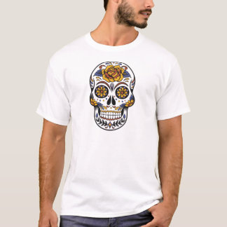 Mexican skull day of the dead T-Shirt