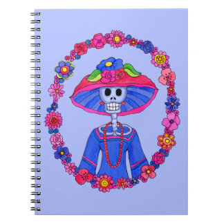Mexican Skull Notebook