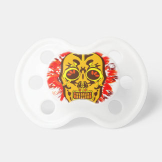 Mexican Skull Pacifier