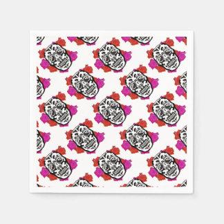 Mexican Skull Paper Napkins