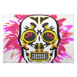 Mexican Skull Placemat