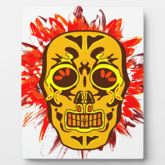 Mexican Skull Plaque