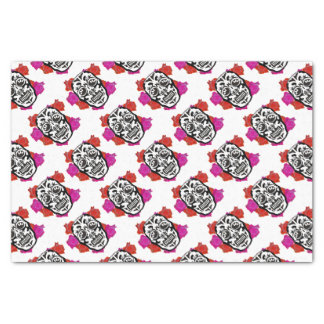 Mexican Skull Tissue Paper