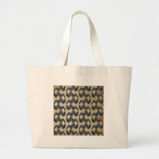 Mexican Snake Large Tote Bag