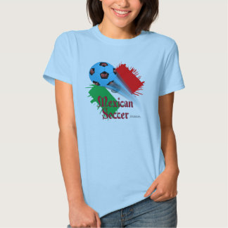 Mexican Soccer Bonanza Ladies Babydoll T-Shirt