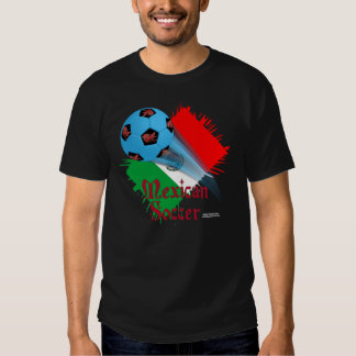 Mexican Soccer Bonanza Men's Colored T-Shirt