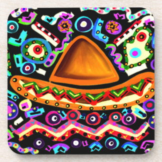 Mexican Sombrero Beverage Coaster