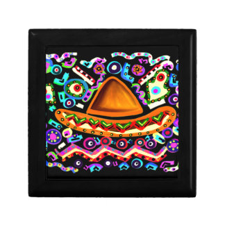 Mexican Sombrero Gift Box