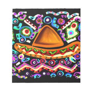 Mexican Sombrero Notepad
