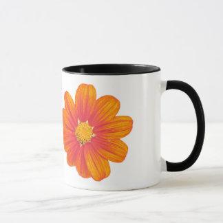 mexican sunflower coffee mug