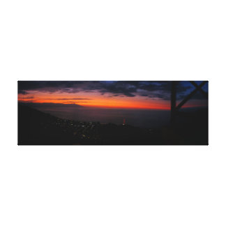 Mexican sunset canvas