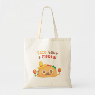 Mexican Taco Bout A Fiesta Pun Humor Tote