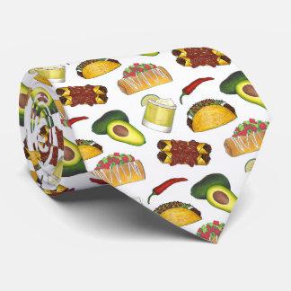 Mexican Tex Mex Food Taco Enchilada Chimichanga Tie