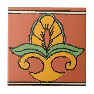 Mexican Tile  Style Country Fleur De Lis