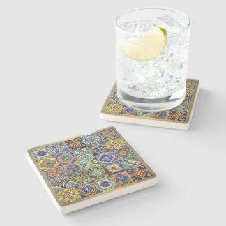 Mexican Tiles Stone Coaster
