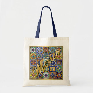 Mexican Tiles Tote Bag