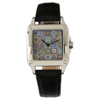 Mexican Tiles Watch