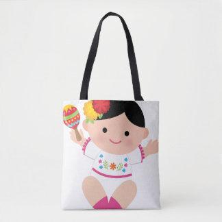Mexican Tote, Baby Senorita Bag