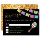 Mexican Wedding RSVP Card