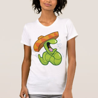 Mexican Worm Womens T-Shirt
