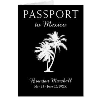 Mexico 21ST Birthday Passport Card