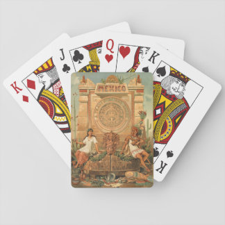 México a través de los siglos playing cards