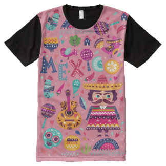 Mexico All-Over-Print T-Shirt