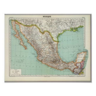 Mexico and Guatemala 3 Poster