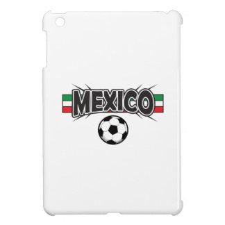 MEXICO APPLIQUE SOCCER iPad MINI COVERS