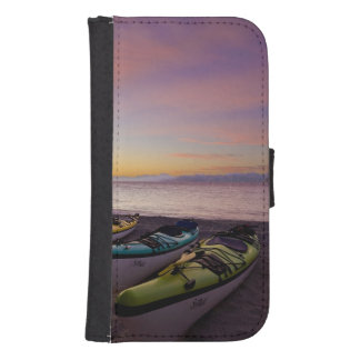 Mexico, Baja, Sea of Cortez. Sea kayaks and Phone Wallet Cases