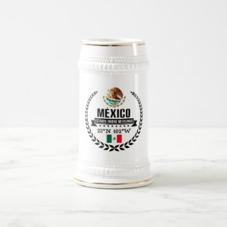 Mexico Beer Stein