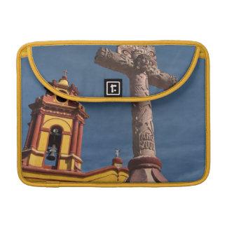 Mexico, Bernal. View of Iglesia de San Sebastian Sleeve For MacBook Pro
